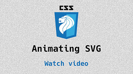 Link to Animating SVG video