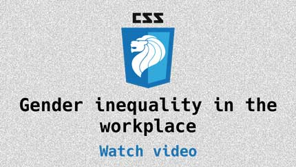 Link to Gender inequality in the workplace video
