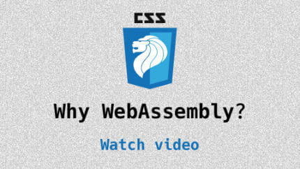 Link to Why Web Assembly? video