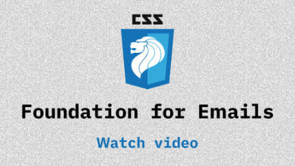 Link to Foundation for Emails video