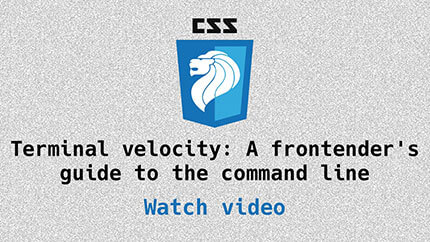 Link to the Command Line video