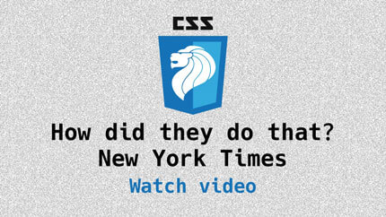 Link to NYT article case study video